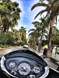 Kelionė motoroleriu po Ibizą